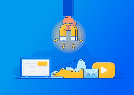 Attirare clienti online. Marketing inbound digitale,