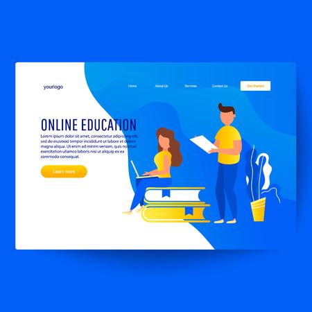 Online education, concept blogging, creative writing, content management