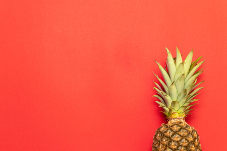 Summer, holiday concept. Pineapple fruit background. Close up of tropical pineapples texture. Archivio Fotografico