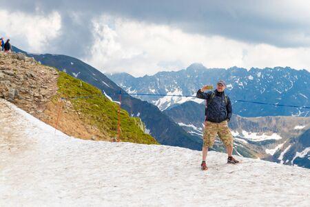Polish Tatras, Poland June 12, 2019: Tourist Route To Kasprowy Wierch