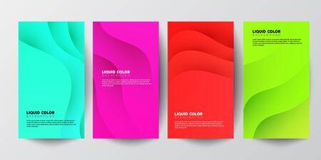 Trendy stories template. Design for social media. Blogger post concept  イラスト・ベクター素材