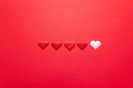 Search for a love partner or loved one. Dating on Valentines Day. Copy space for your creativity ideas text Stock Photo