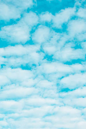 Blue sky background with clouds in summer 版權商用圖片