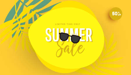 Trendy sale banner template design special offer. Promotion banner for seasonal offer, promotion, advertising.