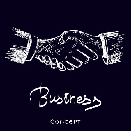Business vector concept illustration. Stock Illustratie
