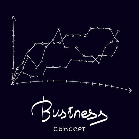 Business vector concept illustration