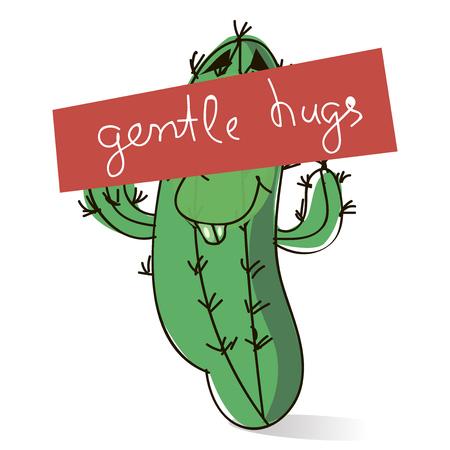 gentle hugs.