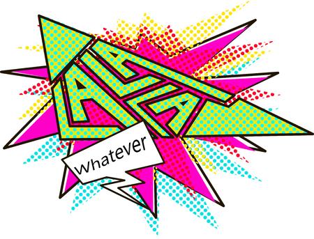 Whatever, la la la