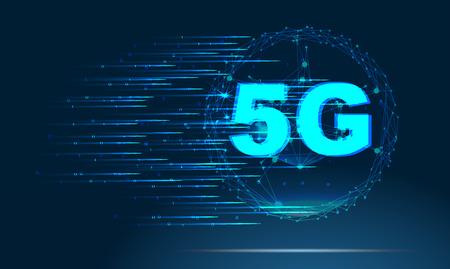 5G new wireless internet wifi connection
