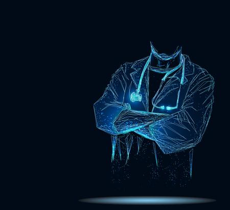 Doctor concept banner 写真素材