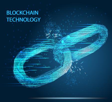 blockchain technology 스톡 콘텐츠