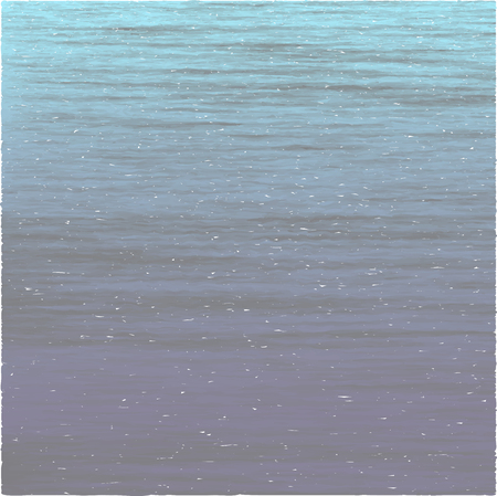 Realistic vector sea background