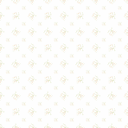 spot: White background with colorful spots. Seamless pattern