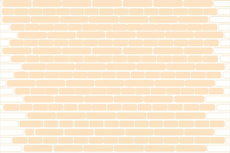 Vector seamless colorful texture. Brick wall Vector Illustration