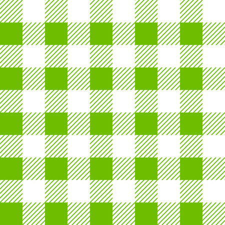 Vector Gingham seamless plaid pattern. Table cloth
