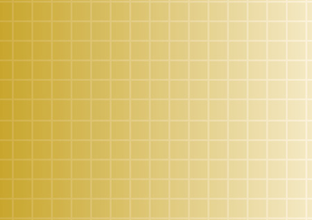 Vector golden gradient background with square texture Illustration