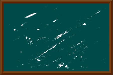 Vector illustration of a school blackboard Çizim