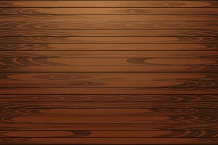 Texture du bois, illustration vectorielle Eps10. Fond en bois foncé naturel.
