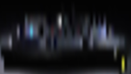 Vector blur background from night city