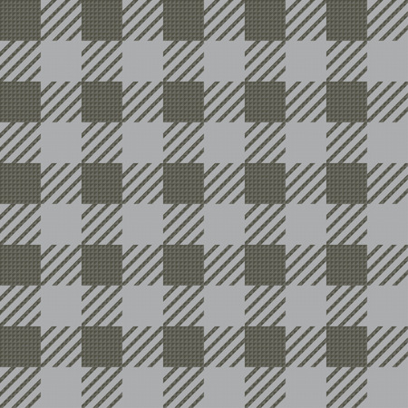 Vector seamless texture with vichy cage ornament