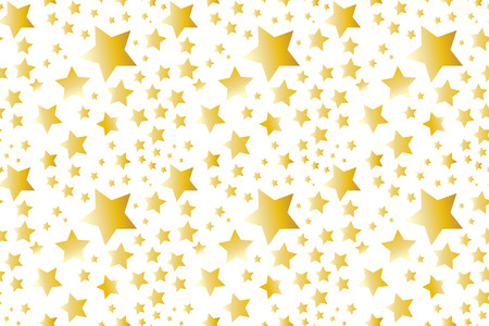 Vector seamless texture with stars Ilustrace