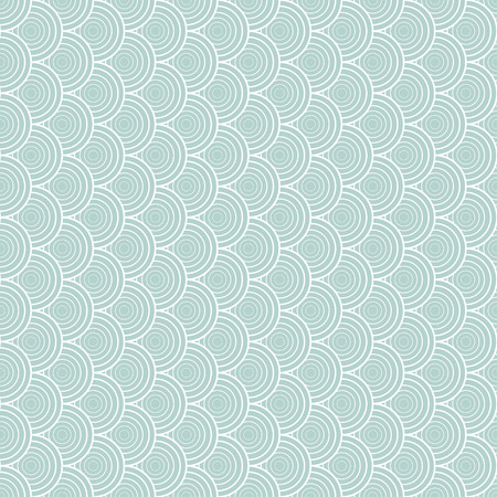 light-blue pattern with shell ornament. Seamless texture