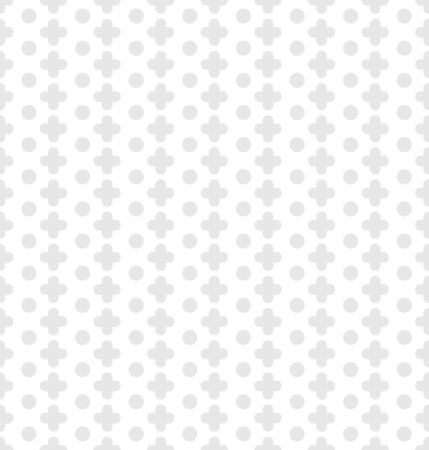Vector white seamless pattern with pluses White web background Illusztráció