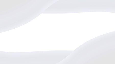 Luxury white vector frame background.