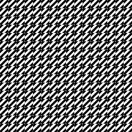 Geometric black and white background. Memphis style seamless pattern