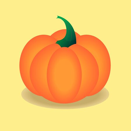 Vector pumpkin illustration for hallowing Ilustracja