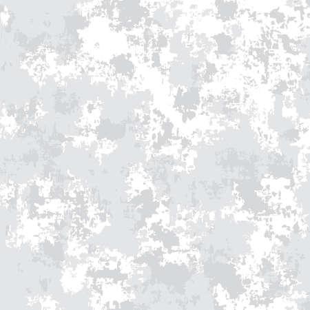 Vector military white snow seamless texture.