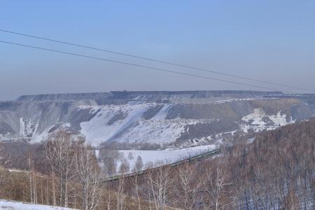 dumps: Dumps coal cut.