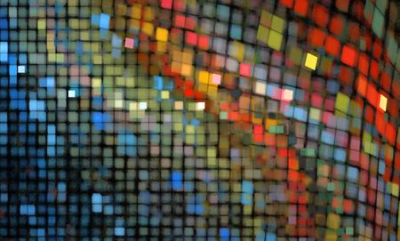Abstracte achtergrond van gekleurde vierkanten.