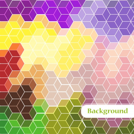 outage: Abstract background color geometrical figures