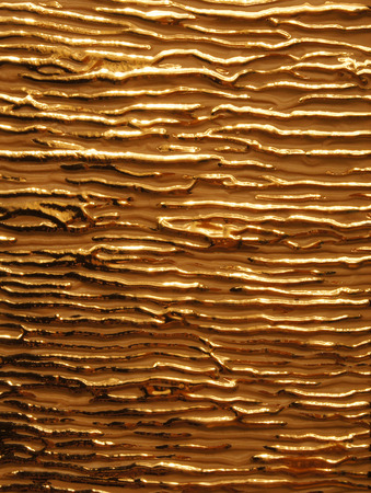 matte: Texture glossy gold veins on the background matte gold