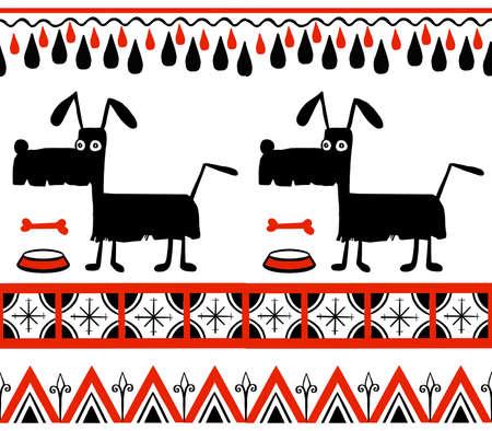 pattern ethnic motifs geometric seamless