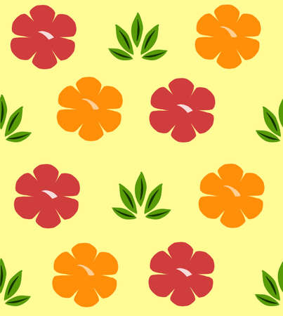Floral pattern, texture with flowers.