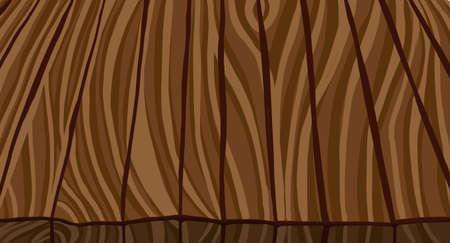 Light parquet seamless wooden floor stripe mosaic tile. Editable vector pattern in swatches. Vector illustration