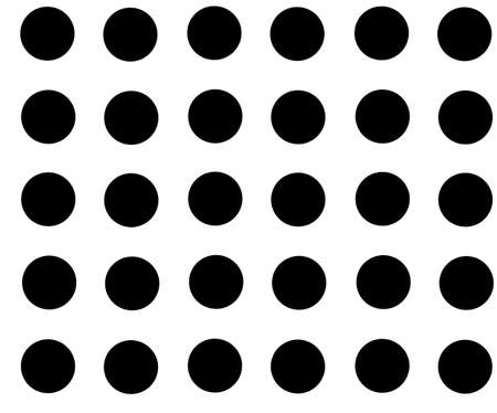 Black and white rhythmic seamless pattern. Vector illustration