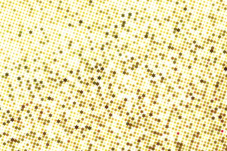 golden light: Vector Golden light yellow stars abstract background