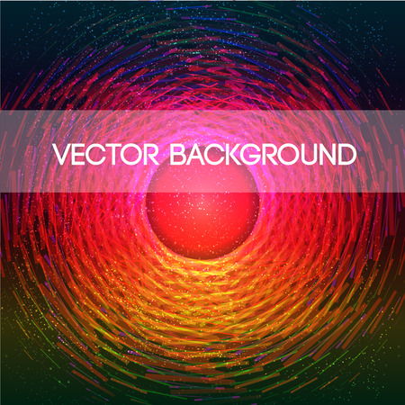 centre: Abstract color vector background with light centre Illustration