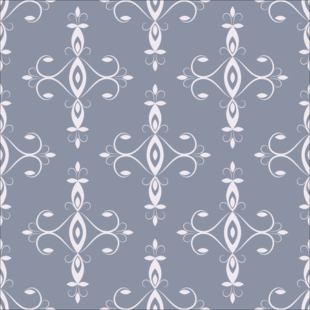 jointless:  jointless background of grey color with the florid pattern of pink color