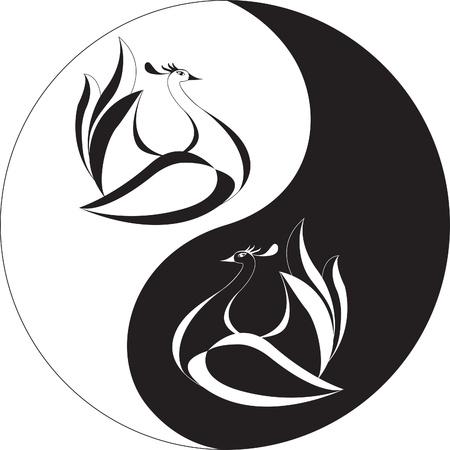 taoisme: karakter van het mannelijke en womanish begin