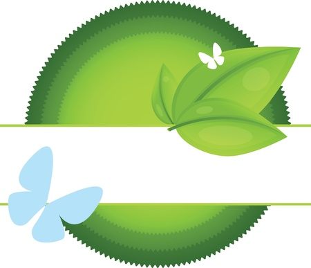 Eco Labels Stock Vector - 12065354