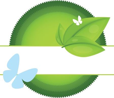 Eco Labels Stock Vector - 12065354