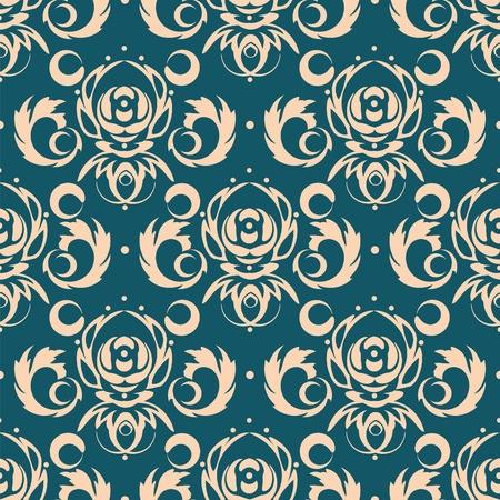 dark blue background for textile design  Illustration