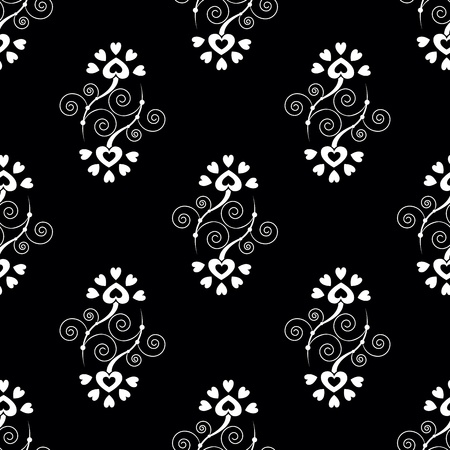 Elegance Seamless pattern with abstract flowers Stock Vector - 13484326