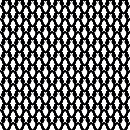 Seamless pattern with white fish Stock Vector - 17595051