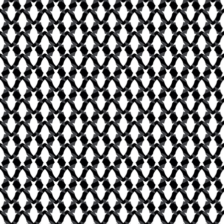 Seamless pattern with white fish Stock Vector - 17595054