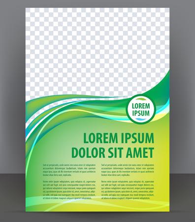 Magazine, dépliant, brochure, modèle de conception couverture de mise en page, vecteur Illustration Banque d'images - 46601280